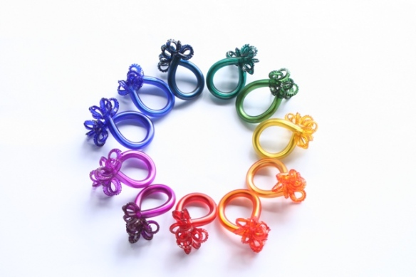 Safira Blom Underwater world rings circle