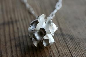 Safira Blom, Fingerprint Pods Necklace, 925 silver