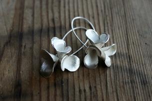 Safira Blom, Fingerprint Pods Errings, 925 silver