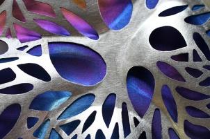 Safira Blom, Self Proliferating Patterns: Organic Neckpiece (detail), 2012