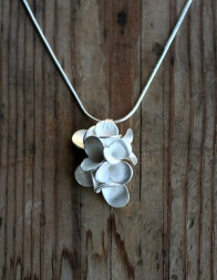 Safira Blom, Fingerprint Pods Pendant, 925 silver