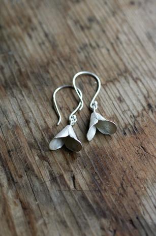 Safira Blom, Fingerprint Pods Earrings, 925 silver